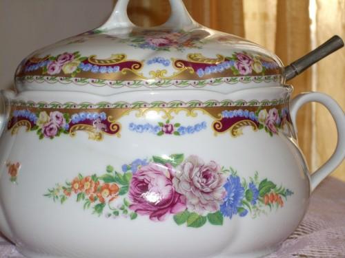 Ceramica Limoges Prezzi.Porcellana Di Limoges Zuppiera Affari D Oro